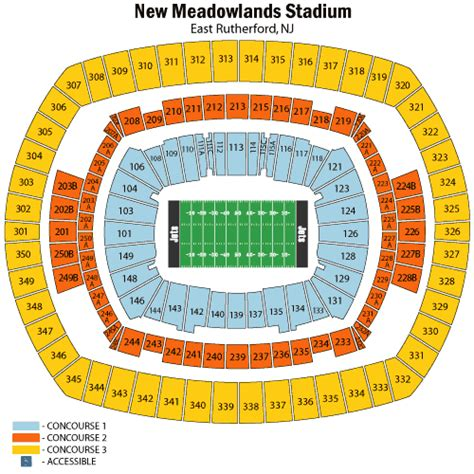 metlife stadium seating chart jets metlife stadium seating chart springsteen concert