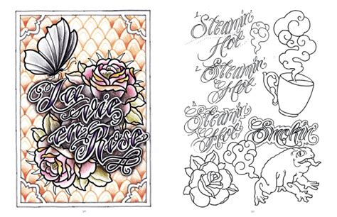 classic design banner tattoo lettering banners classic and modern script