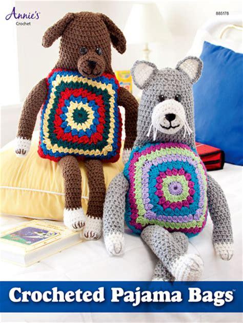 crochet pajama bag pattern crochet baby children patterns gifts toys