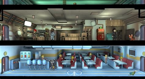 fallout themed room fallout shelter update adds faction themes celebrations more quests vg247