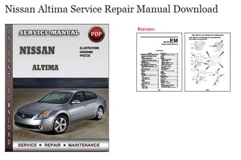 free car manuals to download 2004 nissan altima auto manual service manual service repair manual free download 1996 nissan altima interior lighting