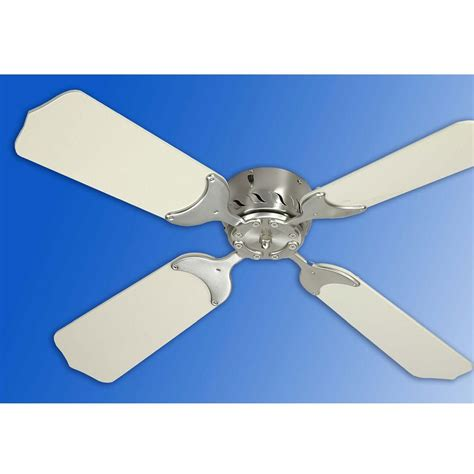 12v Ceiling Fans 36 quot 12v ceiling fan satin nickel white trusty 70058nw fans cing world