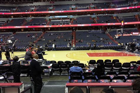 section 11 d capital one arena section 100 washington wizards