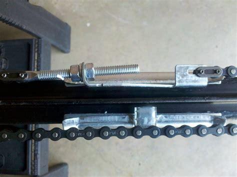 Adjusting Chain Liftmaster Garage Door Opener Wageuzi Adjusting Craftsman Garage Door Opener