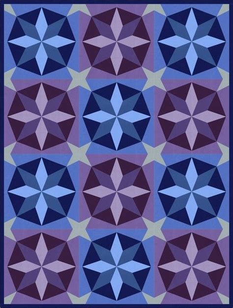Shooting Quilt Pattern by Shooting Designed By Robert Kaufman Fabrics