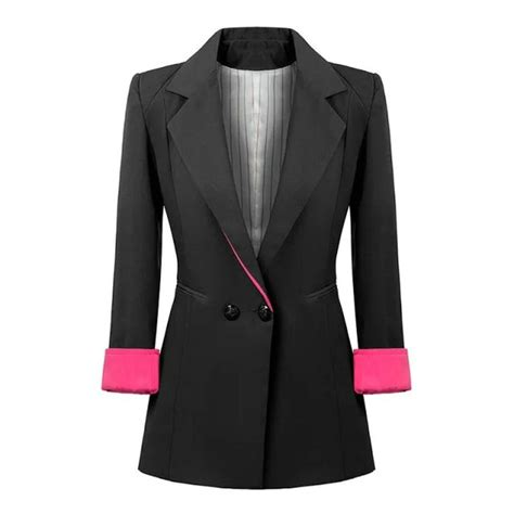 Outerwear Blazer Bow Back Blazer Wanita 12 best front office images on black