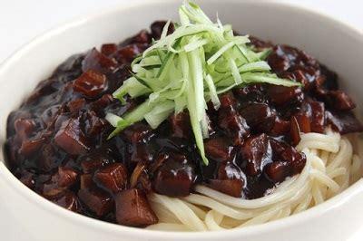 membuat mie hitam resep mie hitam ala korea enak dan praktis lumbung resep