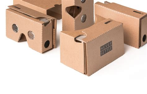 Vr Kardus oneplus now giving away cardboard vr headsets 5 shipping
