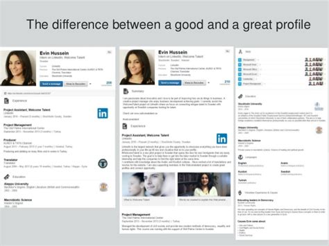 How To Define Mba Candidate Headline For Linked In by How To Create A Great Linkedin Profile