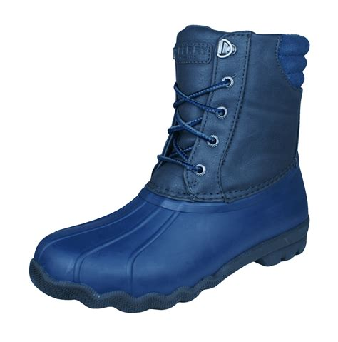 duck boots for boys sperry avenue duck boot boys rubber waterproof grey and