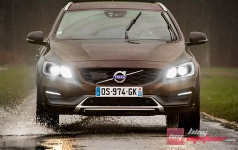 Volvo Route 10 Essai Volvo V60 Cross Country D4 Awd Proposition D 233 Cal 233 E