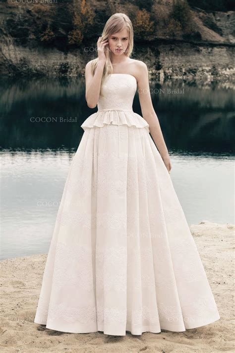 Handmade Wedding Gown - handmade gown wedding mikado dress with corded lace