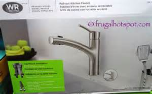 Water Ridge Pull Out Kitchen Faucet by Costco Sale Water Ridge Euro Style Pull Out Kitchen