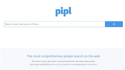 Pipl Search Engine 15 Search Engines To Find Friends Hongkiat