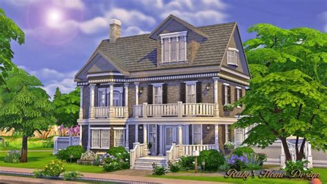 cc for home ruby s home design the chocolate house sims 4 downloads