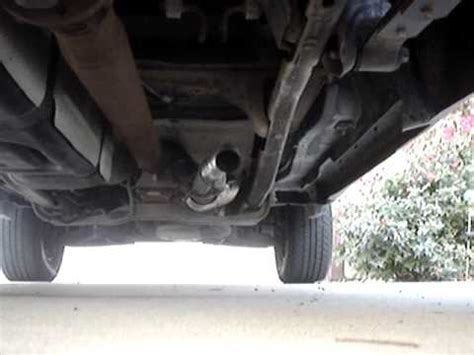 ford ranger 3.0 cut off exhaust. youtube