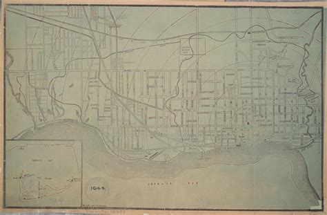 toronto engraving company curated collection of vintage toronto maps
