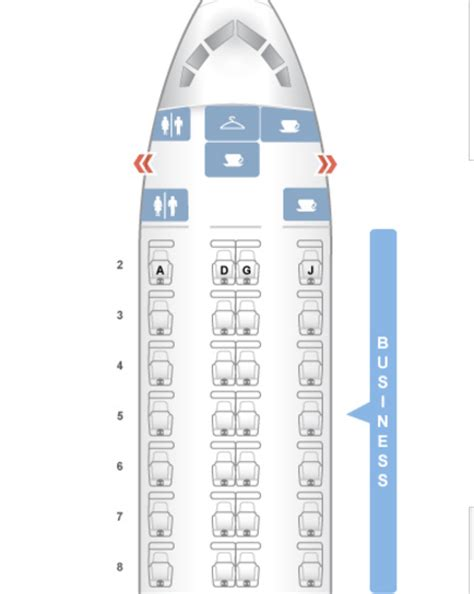Window Or Aisle Seat - review american airlines 767 300 business class travelsort