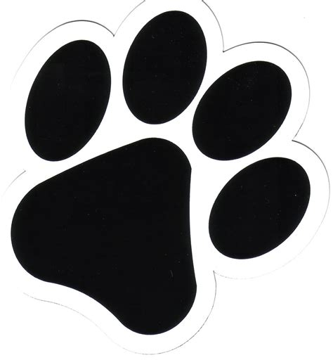 puppy paw print images of paws clipart best