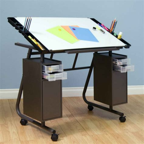 Drafting Table Ikea Steps Of How To Build A Adjustable Drafting Tables Ikea Homesfeed