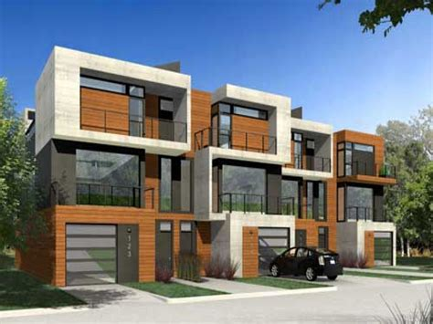 modern home design duplex modern duplex house plans narrow duplex house plans new