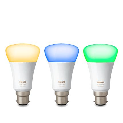 Philips Hue Light Bulbs by Philips Hue White And Colour Smart Light Bulb Starter Kit B22 Bayonet Accessories From O2