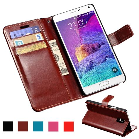 Junction 2 Casing Samsung Galaxy Note 4 Custom 1 aliexpress buy wallet pu leather for samsung galaxy note 4 n9100 coque luxury phone