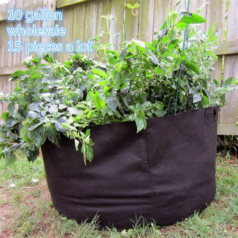 Wholesale Gardens by Wholesale 15pieces Garden Supplies Planting Bag Home Gardening Vegetable Grow Bags Trees Flower
