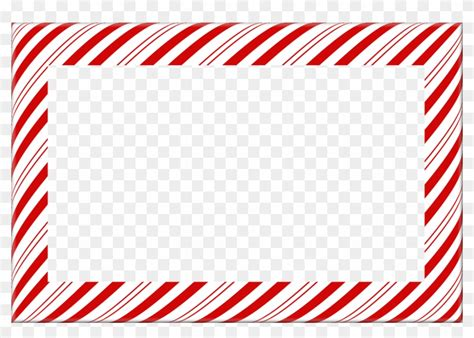 candy cane christmas borders  frames candy cane