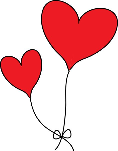 Heart baloon clipart clipart collection photo by rosimeri heart balloons png clipart image