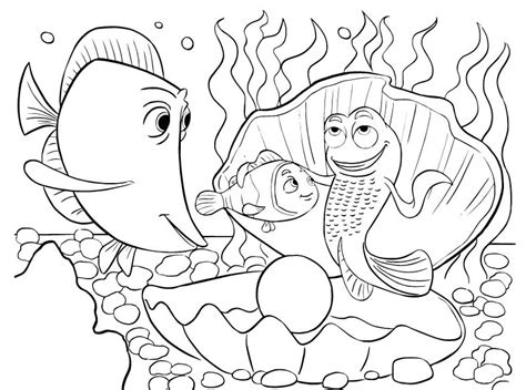 Coloring Pages Fish Nemo by Clown Fish Coloring Page Two Gallery Ideas Nemo Fish