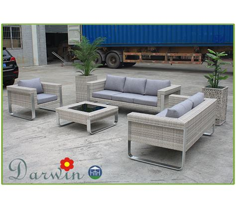 modern aluminum outdoor furniture wicker modern outdoor