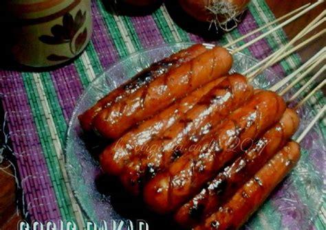 resep sosis bakar barbeque oleh virginia arda cookpad