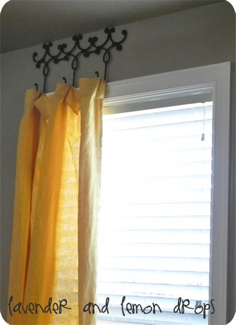 diy curtains without rods 16 creative diy curtain rods ideas