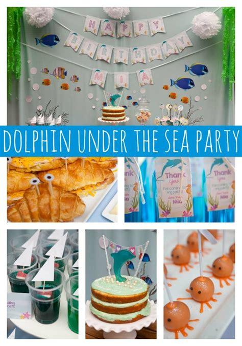 Dolphin Under The Sea  Ee  Party Ee   Pretty  Ee  Party Ee