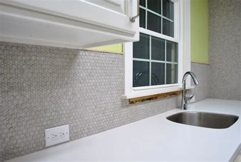 Tiling Backsplash In Kitchen how to grout penny tile young house love