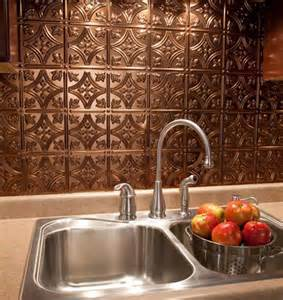 faux metal backsplash panels new ideas for backsplash refresh any kitchen