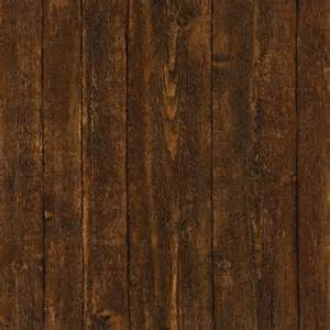 home depot wood wall paneling 56 sq ft ardennes faux brown wood panel wallpaper