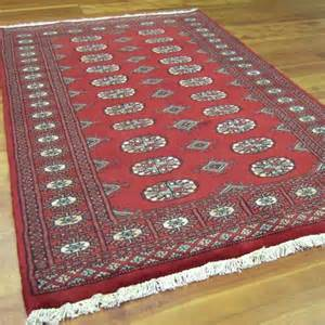 Cowhide Uk Bokhara Rugs Traditional Hand Knotted Pakistan Wool Rug