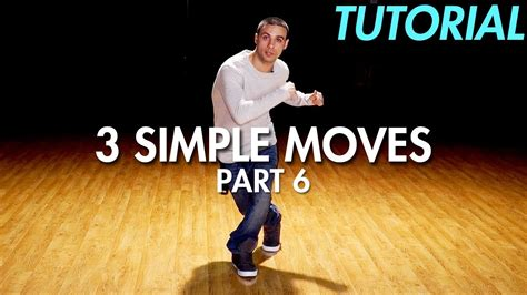 youtube tutorial dance hip hop 3 simple dance moves for beginners part 6 hip hop dance