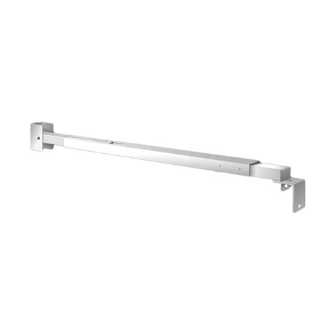 Sliding Patio Door Bar Lock Mr Goodbar 27 In To 37 In Steel Patio Sliding Door Security Bar S700 Pd 72 The Home Depot