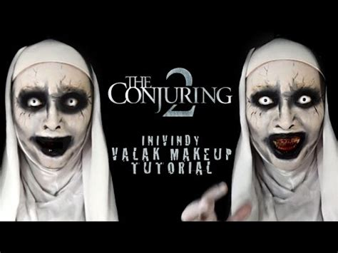 tutorial makeup valak valak quot the conjuring 2 quot make up tutorial steemit