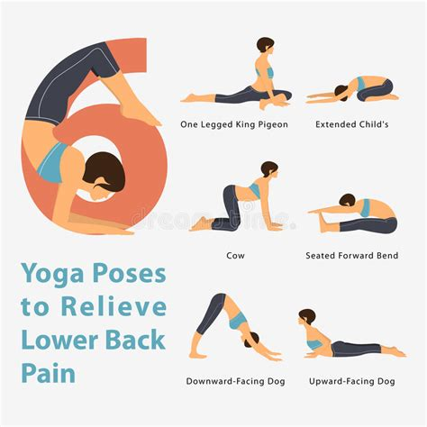 printable yoga poses for weight loss a set of yoga postures female figures for infographic 6