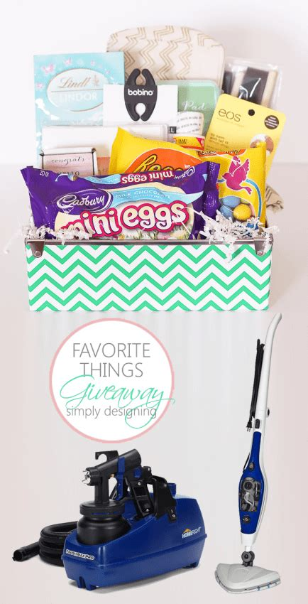 Favorite Things Giveaway - favorite things giveaway