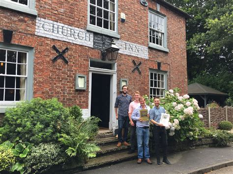 hotels in le mo the church inn crowned dining pub of the year the church