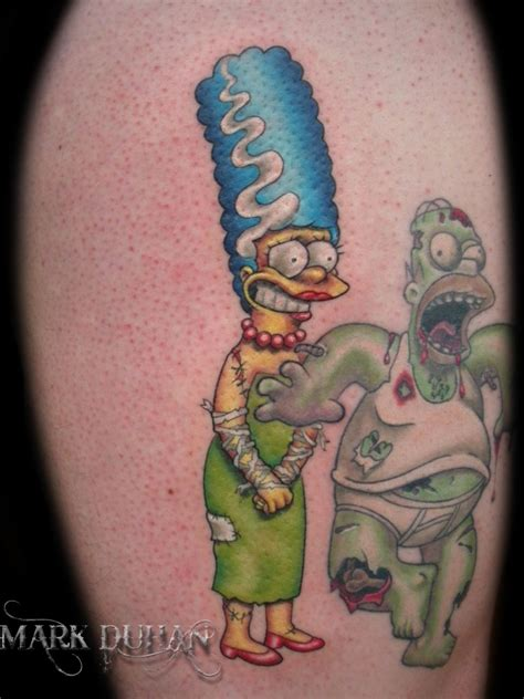 the simpsons tattoo the simpsons gallery skarro be live
