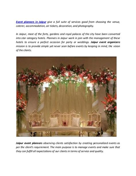 Budget Wedding In Jaipur by Hire Best Event Planners In Jaipur