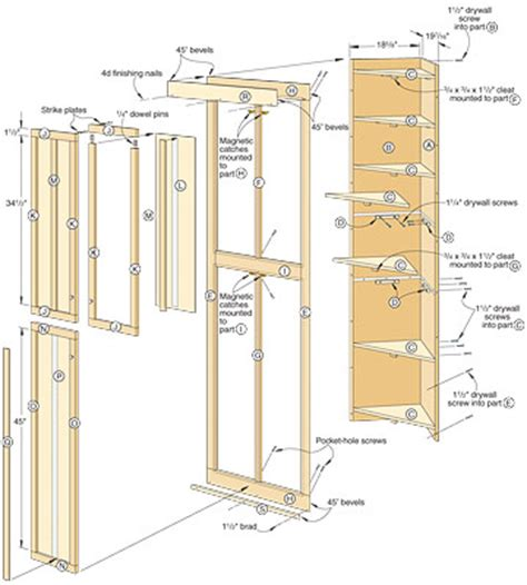 Plan Your Wardrobe by Minwax Free Woodworking Plans Linen Closet Building Plans