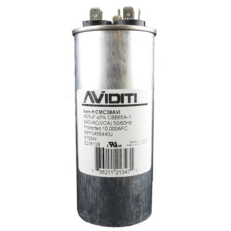 i a ducane ac10b48 a air conditioning unit the capacitor