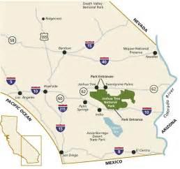 joshua tree california map l a next exit november 2013